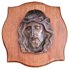 Christ Wearing the Crown of Thorns Plaque