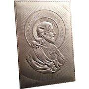 Vintage Sacred Heart Plaque