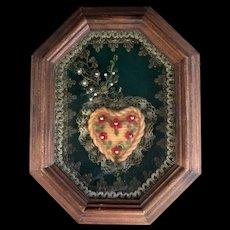 Immaculate Heart of Mary German Monastery Wax Art