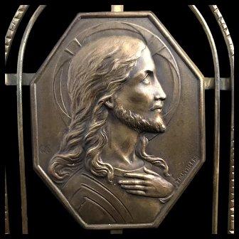 Art Nouveau Jesus Christ Devotional Oratory