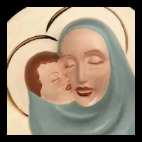 Mid-Century Madonna & Child Planter
