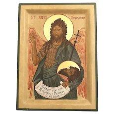 Saint John the Forerunner Icon