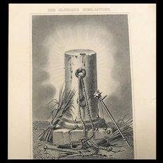 The Glorious Humiliations Prayer Card, 1916 Membership St. Josephs Union