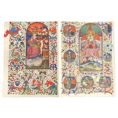 Bedford Book of Hours Postcards - The Trinity
