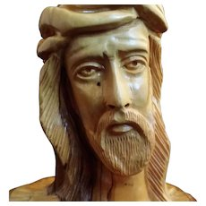 Olive Wood Sculpture of Christ from Bethlehem