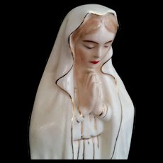 Mid-Century Blessed Virgin Mary Statue - Red Tag Sale Item