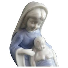 Sweet Madonna and Child Figurine