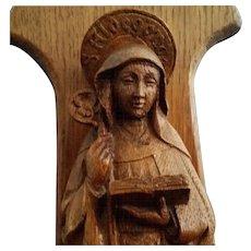 Saint Aldegonde Statue with Chapel