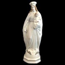 French Porcelain Madonna & Child