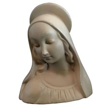 Vintage Blessed Virgin Mary Figure