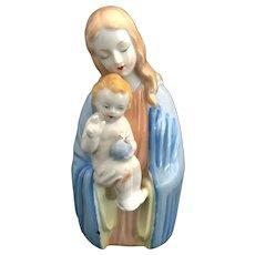 Jesus the Savior and Virgin Mary Statue