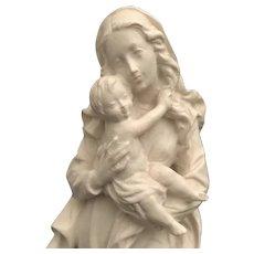 Madonna & Child Statue by Dolfi, Italy