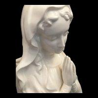 Praying Madonna Vase