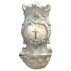 Antique Holy Water Font, 1892