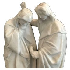 Mary & John Holy Water Font