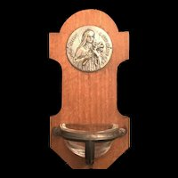 Saint Therese of the Infant Jesus Holy Water Font
