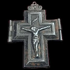 Antique Crucifix Locket