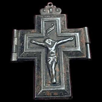 Antique Crucifix Locket