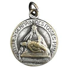 Sacred Heart of Jesus / Pieta Medal