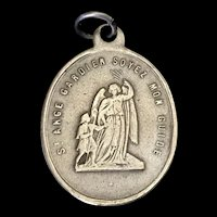 Antique Medal - Congregation of the Holy Angels