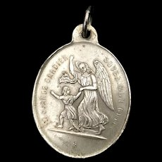 French Medal - Congregation of the Holy Angels
