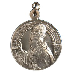 Pope Pius XI Ordination Jubilee Medal 1879-1929