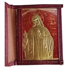 Passionist Pocket ID with Sacred Heart Memento