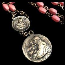 Antique Saint Anthony Chaplet / Rosary