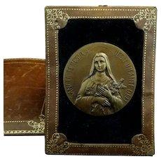 Pocket Shrine of Saint Therese of the Child Jesus