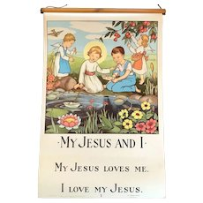 """My Jesus and I"" Catechesis Poster Set, Original Edition"