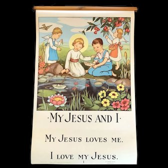 """""""My Jesus and I"""" Catechesis Poster Set, Original Edition"""