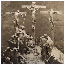 The Passion of Christ Postcards by Domenico Mastroianni, 1911