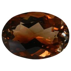 Fine Imperial Topaz Gemstone 6.94 Cts