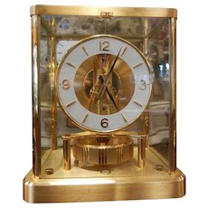 Vintage ATMOS Clock by Jaeger Le Coultre 13 Jewel Swiss Made