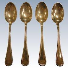 Vintage 800 European Silver Spoon Set