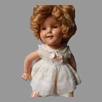 """""""Ideal""""Compo Shirley Temple Doll, 20 inches"""