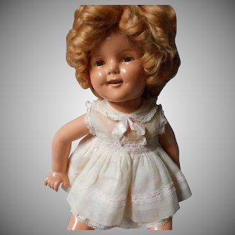 """Ideal""Compo Shirley Temple Doll, 20 inches"