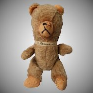 Vintage Jointed Mohair Teddy Bear