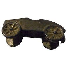 Vintage Cast Metal Race Car