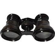 Vintage Opera Glasses [Binoculars] in Leather Case