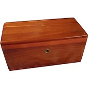 Vintage Miniature Lane Cedar Chest
