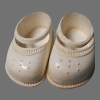 2 Pairs Mid Century Doll Shoes