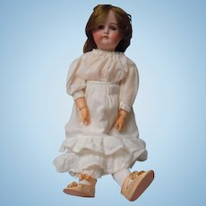 Antique 23 inch Cuno and Otto Dressel, Bisque Head Doll