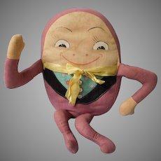 Adorable Vintage Painted Face Humpty Dumpty