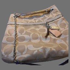Vintage Coach Insignia Handbag