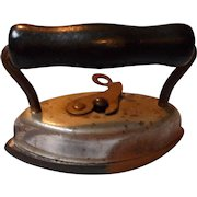 Vintage Old Doll Toy, Salesman's Sample Sad Iron