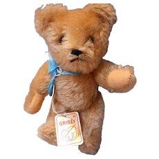 "Old Doll Vintage Mohair ""Grisly"" Bear"