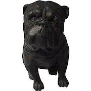 Vintage Cast Metal Bulldog