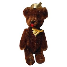 "Vintage German ""Yes-No"" Teddy Bear"