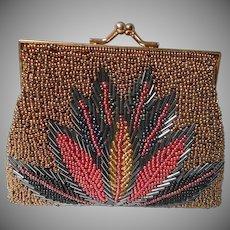 Vintage Small Beaded Handbag